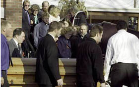 Funeral of Jessica Willers